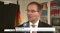 Interview mit dem neuen Generalbundesanwalt Peter Frank am 19.10.2015