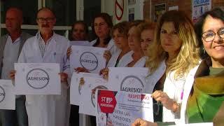 Paro sanitario en Calañas por las agresiones a este colectivo