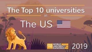 Meet The US's Top 10 Universities 2019