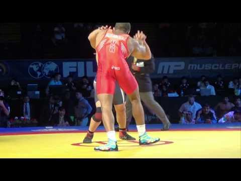 74 KG Parveen Rana India vs Jordan Burroughs USA