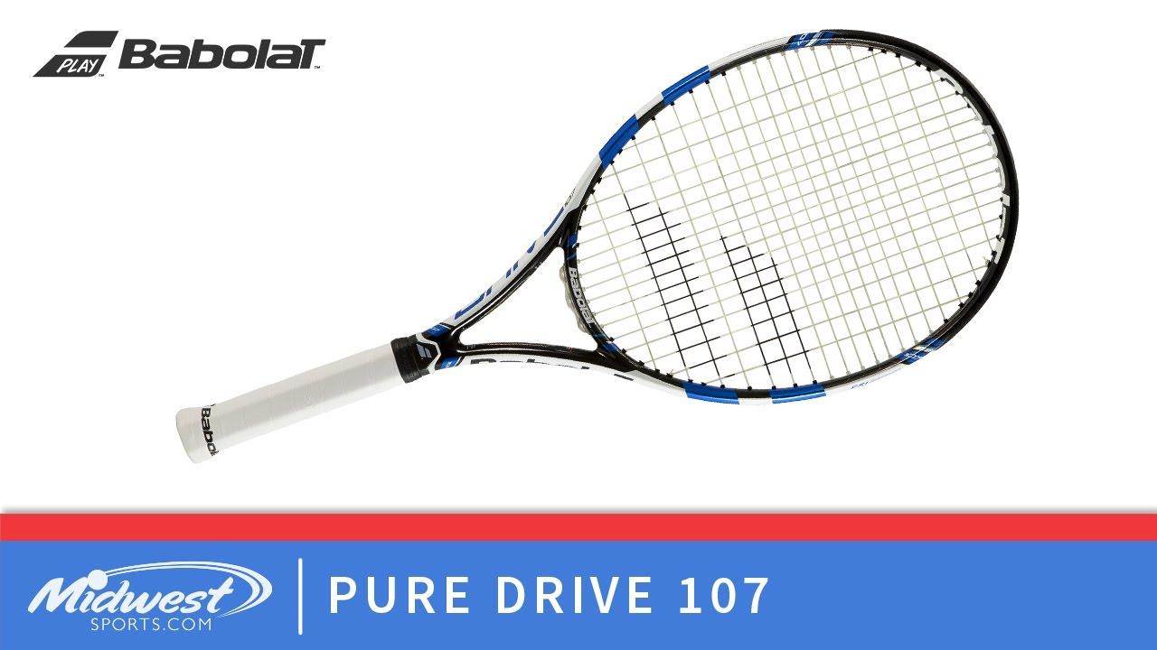 Babolat Pure Drive 107 Tennis Racquet - YouTube e08356e86a6ff