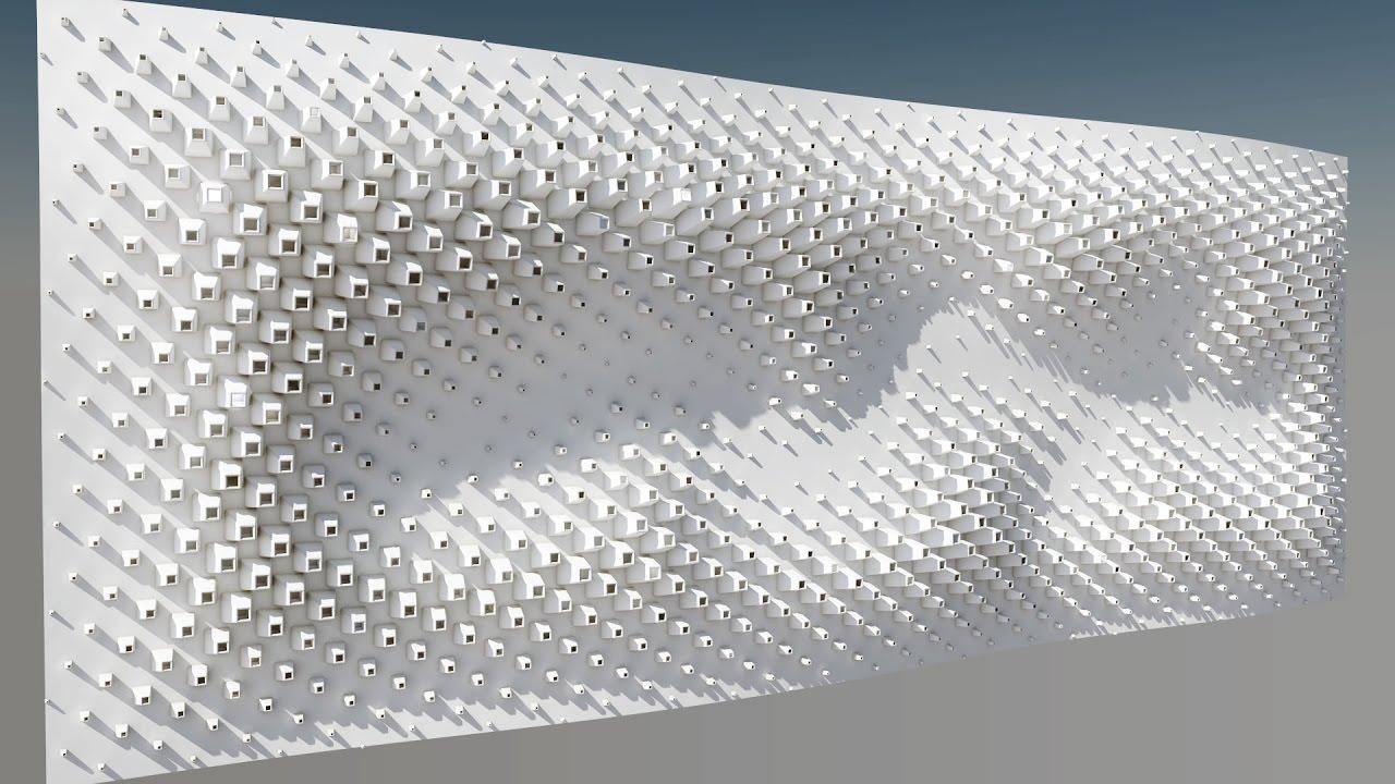 Sketchup And Skatter Parametric Wall Youtube