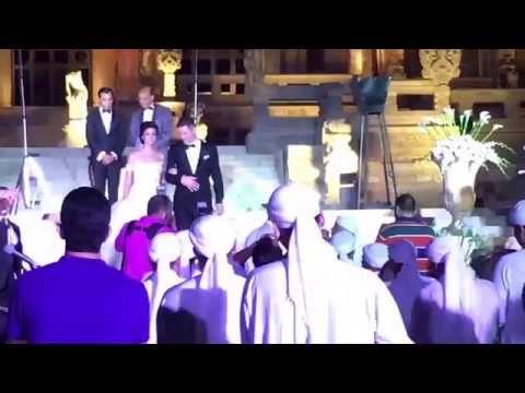Jan & Reham - Royal Wedding - Cairo, Egypt - Baron Empain Palace -10/23/15