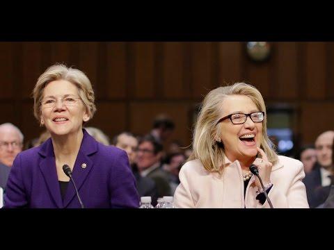 Hillary Clinton & Elizabeth Warren Aren