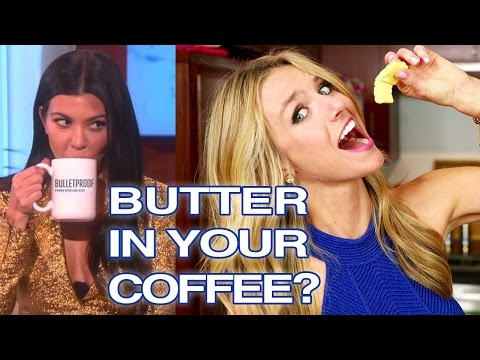 Kourtney Kardashian Butter for Breakfast Review, 'Bulletproof Coffee'