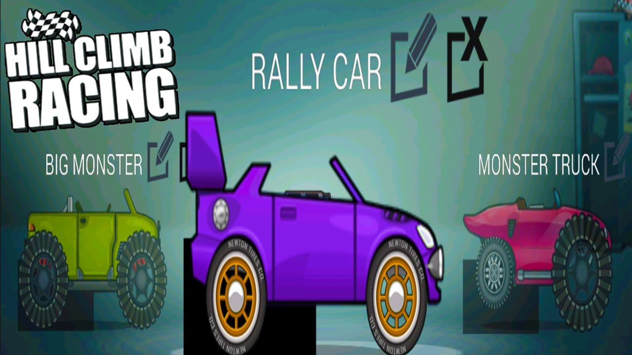 Hill Climb Racing The Garage New Update - Rally Car Create Your ...