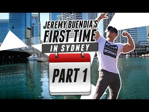 Jeremy Buendia's First Time In Sydney