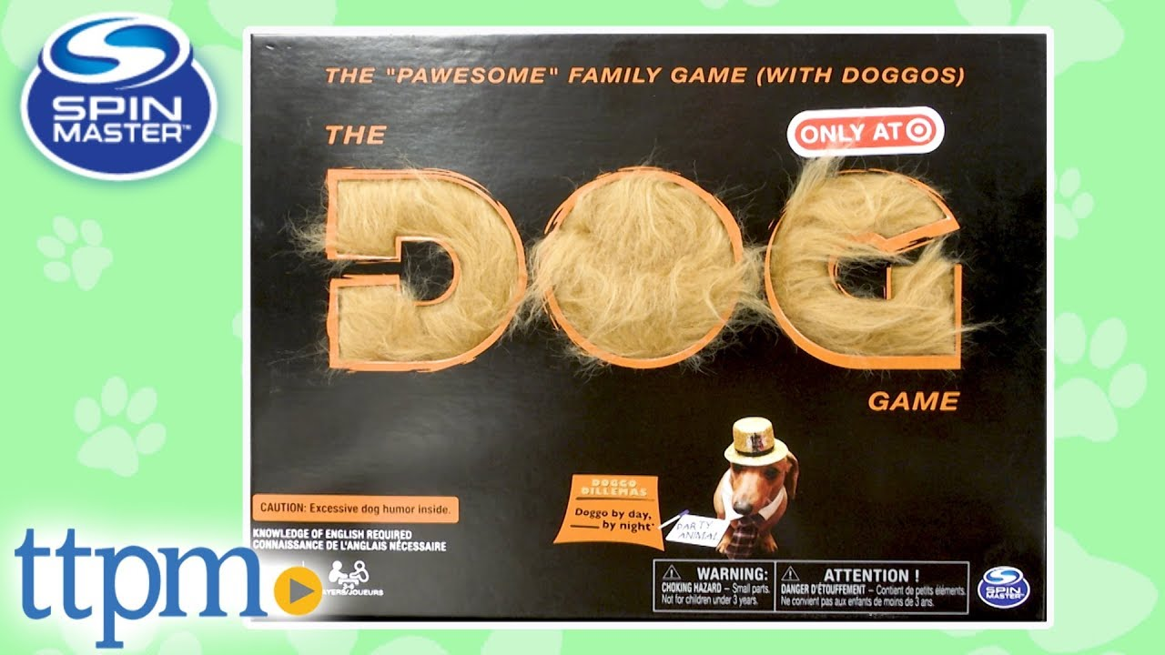 The Dog Game for Ages 8 and Up Hilarious Family Game with Doggos