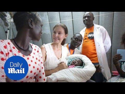 Ashley Judd visits wartorn South Sudan as UN ambassador  Daily Mail