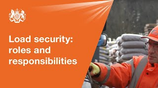 Load securing: roles and responsibilities
