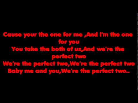 Auburn The perfect two lyrics video.