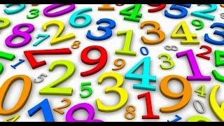 Impariamo a contare con i numeri colorati!