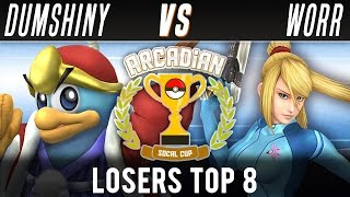 Gambar cover SoCal Arcadian #4: Top 8//Grands ft. Bookkeeper (Zelda) VS $limChang (Mario)