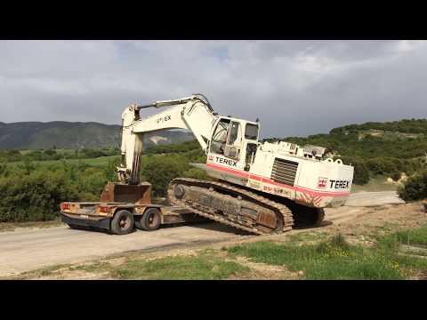 Loading By Side The Huge Terex RH30F
