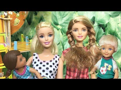 Barbie ve Ailesi Bölüm 101 - Çocuk Kaçırma - Çizgi film tadında Barbie oyunları ve filmleri