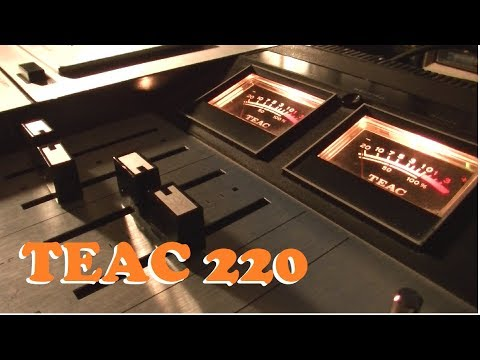 Michael Bolton vs. Teac 220 Cassette Deck [Repair & Demo]
