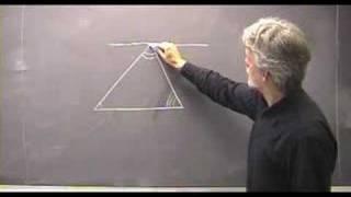Vinkelsummen i en trekant