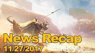 MMOs.com Weekly News Recap #123 November 27, 2017