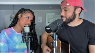 Download lagu BEST DUET of Stuck With U - Ariana Grande & Justin Bieber  (Cover by Will Gittens & Kaelyn Kastle)