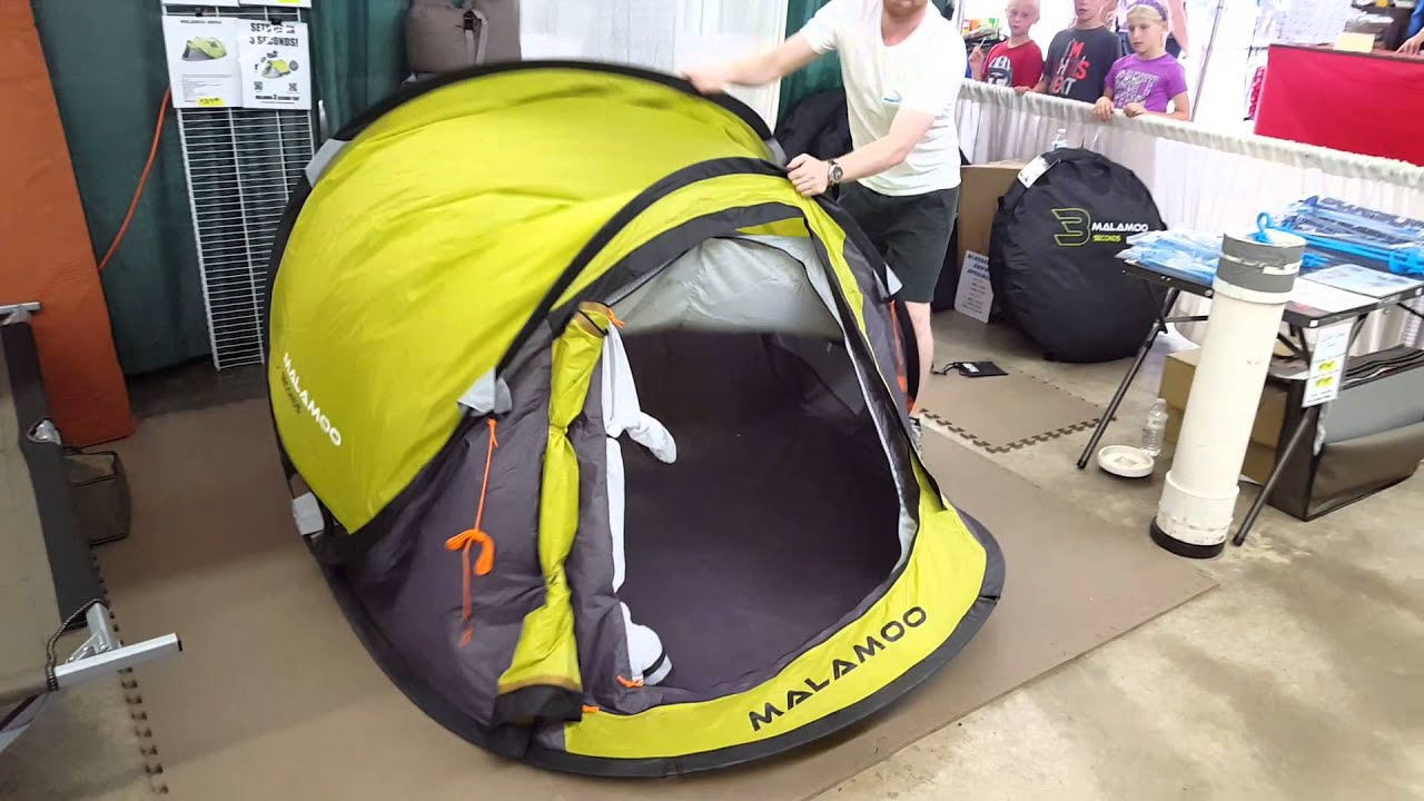 MALAMOO 3 Second Classic Tent Set Up u0026 Pack Away & MALAMOO 3 Second Classic Tent Set Up u0026 Pack Away - YouTube