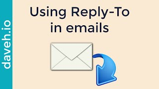 Sending an email from One Address, but Getting Replies to Another using Reply-To