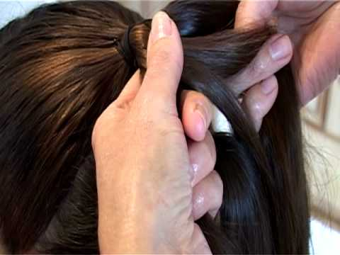 Wedding Hair Style - Hair Up by Claire Wallace Style 1(Part of
