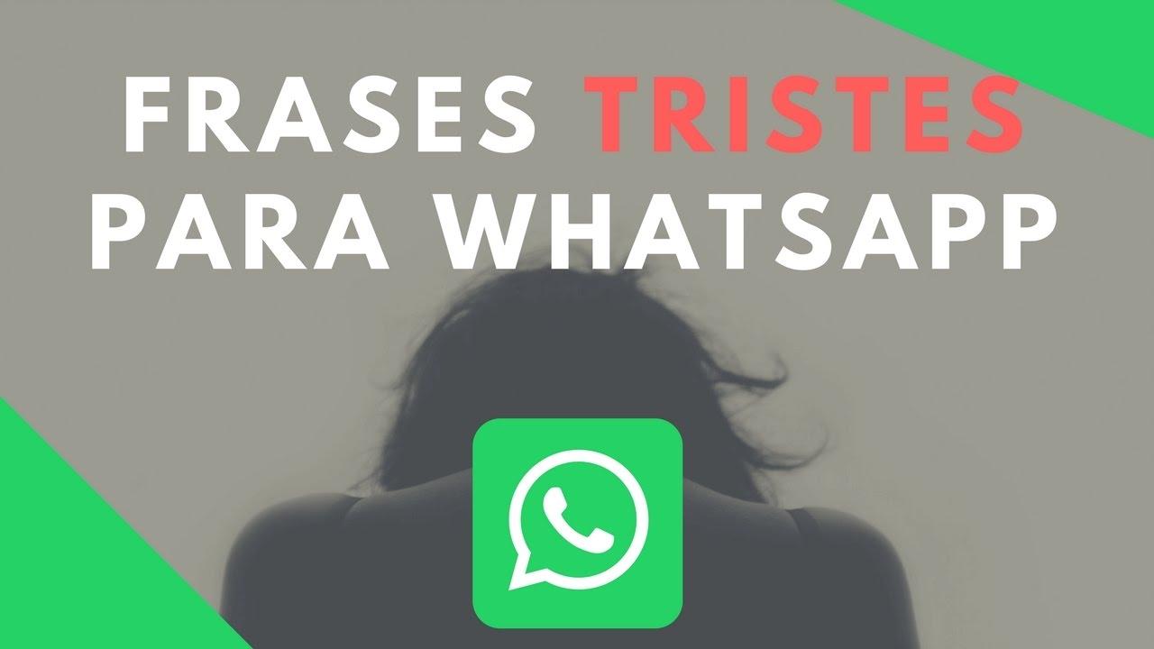 Frases Para Whatsapp: Frases Para Whatsapp TRISTES