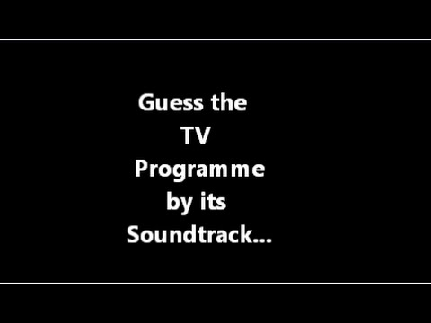 TV Soundtrack Quiz 1
