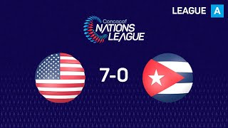 #CNL Highlights - United States 7-0 Cuba