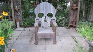 Badass Skull Chair