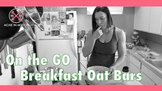 On The Go Breakfast Oat Bars