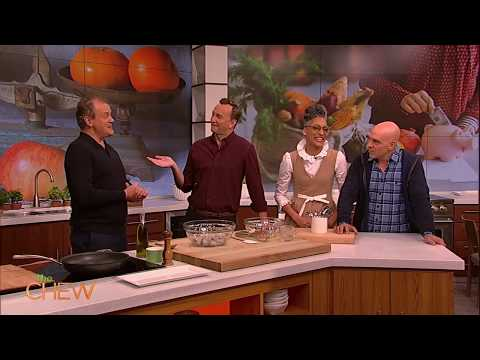 Hugh Bonneville on His American Accent  The Chew