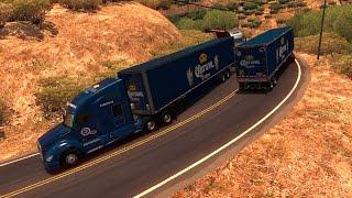 Kenworth T680 rumbo a Cabo San Lucas, Baja California Sur, México