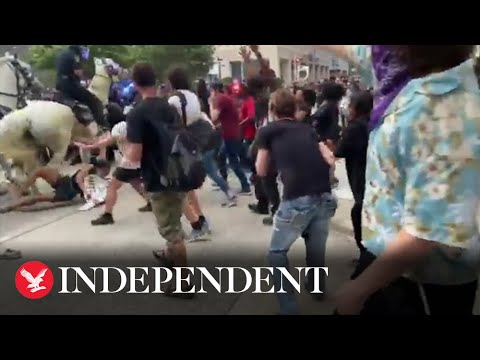 George Floyd Protesters Met With Violence From Police Across US