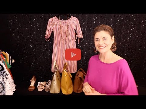 How to create 3 completely different looks with 1 gorgeous summer dress