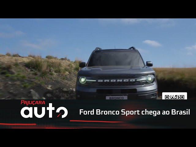 Ford Bronco Sport chega ao Brasil