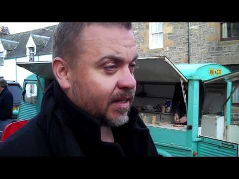 Lee Boardman being ed at Food On Film, Kingussie, Scotland  Part 1