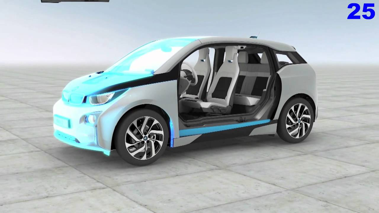 Bmw I3 3d Video Animation Movie Electric Car Youtube