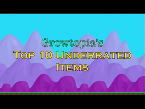 Growtopia: Top 10 Underrated Items