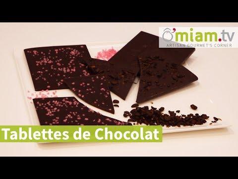Recette ▶ Tablettes de Chocolat Éclats de café et Pétales de Roses 🍫