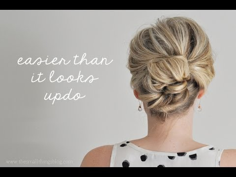 Easier Than It Looks Updo Youtube