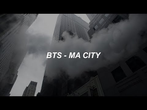 BTS (방탄소년단) 'Ma City' Easy Lyrics