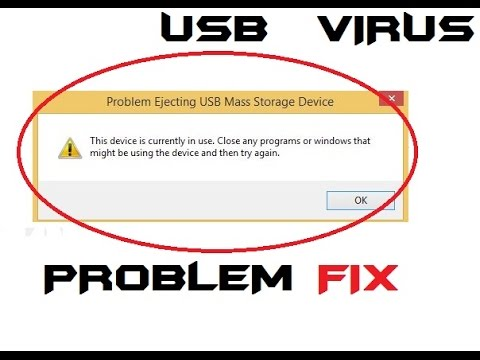 how to fix problem ejection USB Mass storage 2017 easiest ...