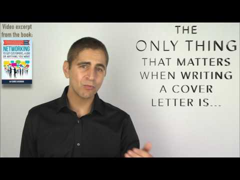 How To Write A Cover Letter (Except From My Free Book)