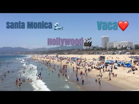 Santa Monica and Hollywood Vlog☀️