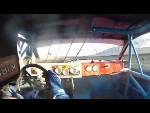 IMCA Stock Car heat race Junction Motor Speedway