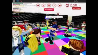 party in roblox wen it gets to wild