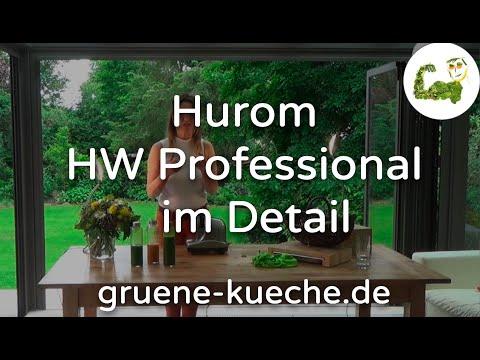 Hurom HW Professional Entsafter vorgestellt - Teile 1-5 komplett