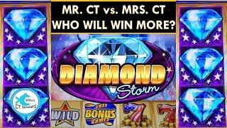 *NEW* Diamond Storm Slot Machine - Flamin' Hits & Liberty Stripes - Max Bet Winning!