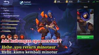 Suara dan arti-AULRAD hero penjaga MINOTAUR-mobile legends